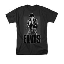 Elvis Presley - Leather Adult T-Shirt