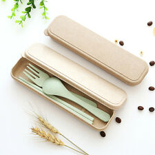 Hot Sale Portable Spoon Fork Chopsticks Tableware Set for Travel Cutlery Camping