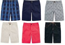 Arizona Boys Shorts Chino Denim Adjustable Preschool sizes 4 5 6 7 NEW