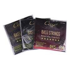 Caye 4/5/6/ Strings Sets Silver-plated Guitar Strings For Electric Bass Guitar