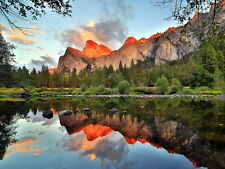 Yosemite National Park California Mountains Beautiful Giant Wall Print POSTER