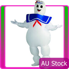 Adult Ghostbusters Inflatable Stay Puft Marshmallow Man Fancy Dress Costume
