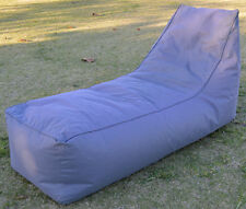 NEW - Outdoor Beanbag Single Chaise Lounger