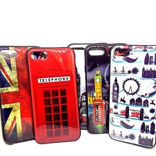 "For iPhone 7 (4.7"") (2016) London Silicon Gel Rubber Bumper Back Cover Case"