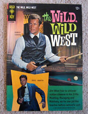 The Wild, Wild West #1 (Gold Key, 1966) FN+ condition
