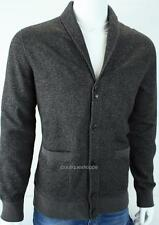 Armani Exchange A|X Mens Marled Knit Fleece Cardigan Buttoned Sweater Jacket NWT
