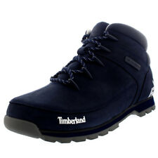Mens Timberland Euro Sprint Hiker Casual Walking Mid Top Black Boots All Sizes