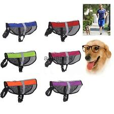 Reflective Pet Dog Pup Clothes Chest Harness Strap Training Walking Collar Vest