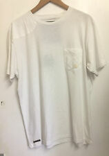 "Men's Nicolas Deakins T-Shirt in White (XXL 46"" Chest)"