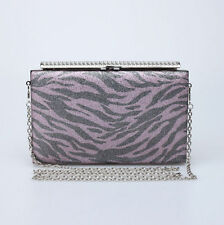 Women Leopard Single Shoulder Bag Evening Bag Clutch Handbag Party Cocktail