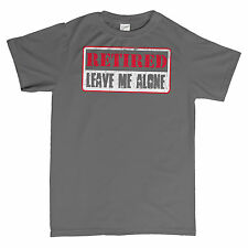 Retired Leave Me Alone - Distressed Print - Father's Day Gift T-shirt