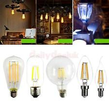 4W Vintage Edison E27 Screw Filament Light Bulb Energy-saving Lamp 6000K/3000K