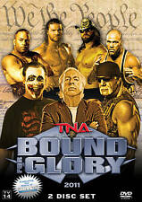 TNA Wrestling Bound For Glory 2011 2 DVD Set NEW / RARE OOP IMPACT Sting WWE NXT