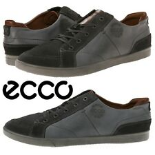 NWB ECCO Mens Collin Vintage Comfort Moccasins Walking Oxfords Sneakers Leather