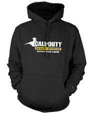 CALL OF DUTY INFINITE WARFARE KIDS HOODIE-PERSONALISE WITH GAME TAG-Xbox PS4 COD