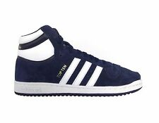 Adidas Originals Men's TOP TEN HI SUEDE PACK Shoes Navy F37661 a