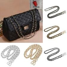 120cm Metal + Leather Bag Chain Strap Handbag Shoulder Bag Chain Replacement NEW