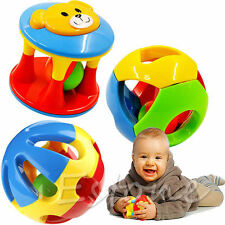New Musical Grasp Handbell Developmental Ball Bed Bell Kids Baby Toy Rattle