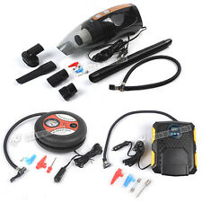 Car Motor Portable Mini Tyre Air Compressor Electric Tire Inflator Pump Cleaner