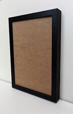 Solid Wood - DEEP Photo/Picture Frames in BLACK WOODGRAIN finish - WALL HANGING