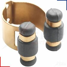 Peradon Deluxe Solid Brass Cue Clips Nylon Rollers Snooker Pool Rack Holders