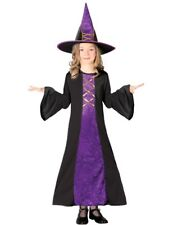 Child Classic Witch Kids Girls Halloween Outfit Fancy Dress Costume
