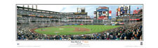 NY Mets Citi Field 1st Pitch Inaugural Game copy signs Panoramic Poster 2086