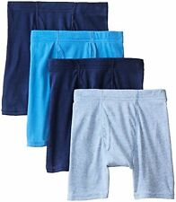 Hanes BU756F Boys 4 Pack Ultimate Comfortsoft Blue Dyed Boxer Brief