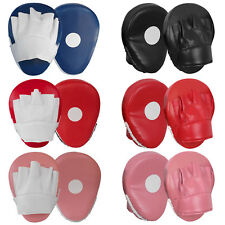 Curved Focus Pad Hook and Jab Mitts Kick Shield pad Punching Bag MMA Muay Thai