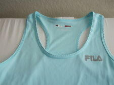 Fila Sport Womens Blue Athletic Top Tank LIVE IN MOTION