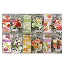 DIY Paper Flower Embellishments Crafts Gifts for Card Making Scrapbooking Decor