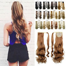 Clip in Extensions Hairpiece Jaw Ponytail Fashion Hair Extension Long Pony tail