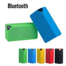 Portable TF Card Bluetooth Mini Speakers Handsfree Music Player For Phone Tablet