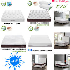 "8""/10"" Spring/Gel Cool Memory Foam/Memory Foam Mattress Twin/Full/Queen Size US"