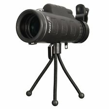 HD Dual Focus Monocular Telescope Portable Viewing Scope Sporting Events Travel