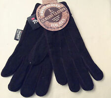 Rugged Wear Men's Winter Dress/Driving Glove, Suede Leather On Knit, Thinsulate
