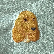 Cocker Spaniel Dog Embroidered Towels, Dog Gift, Personalise, (Cocker Spaniel 8)