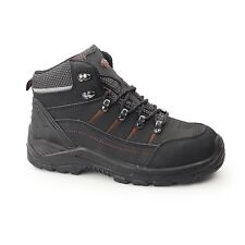 Mens Safety Work Boot S3 Steel Safety Toe Cap and Midsole Water Resistant Shoe