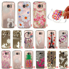 Slim Patterned Soft Silicone Rubber TPU Gel Back Case Cover For Samsung Galaxy