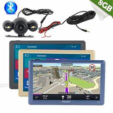 "XGODY 7""Truck Car GPS Navigation Bluetooth Reversing view Camera AV-IN+Speedcam"