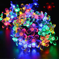 LED Solar Lamps String Garden Outdoor Fairy Lights Xmas Party Home Decoration