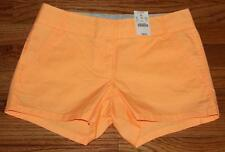 NWT J. Crew Womens Chino City Fit Broken-In Shorts Short Pale Orange $32.50 *3T