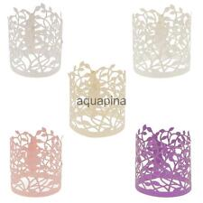 20 Flower Leaves Paper Tea Light Holder Wedding Party