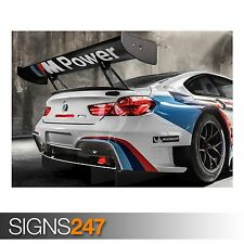 2016 BMW M6 GT3 (AA213) CAR POSTER - Photo Picture Poster Print Art A0 to A4