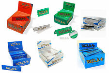 ALL RIZLA KING SIZE ROLLING PAPERS FULL BOX (50 BOOKLETS)  MULTIPLE VARIATIONS