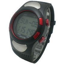 Fitness Sport Pulse Watch Heart Rate Monitor With Counter Pedometer Calories
