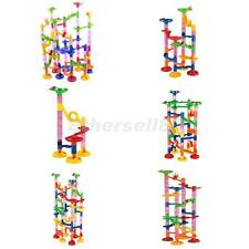 Marble Run Race Set Building Blocks Construction Toy Game -105/50/29/74/91/80pcs
