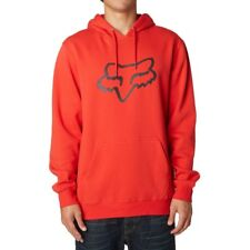 Fox Hoody - Legacy Foxhead - Flame Red