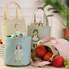 Portable Cute Bag Tote Cooler Thermal Insulated Lunch Box Picnic Pouch Storage