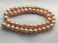 Fine Lavender Round Cultured Freshwater Pearls Loose Beads Various Sizes 15inch
